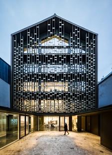 Lobjoy-Bouvier-Boisseau Architecture a building for two foundations in Paris