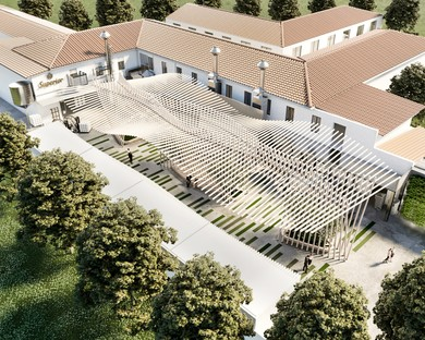 Aquilialberg Architects Atelier and the new image of the Conceria Superior plant