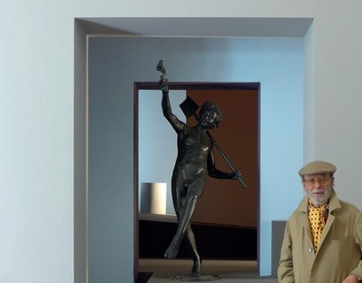 Francesco Venezia receives the Piranesi Prix de Rome for lifetime achievement