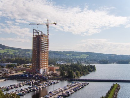 Mjøstårnet,the world's tallest timber skyscraper