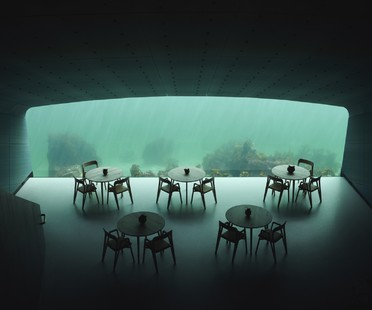Under, Snøhetta's undersea restaurant