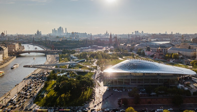 MIPIM Awards  Special Jury Prize for Moscow's Zaryadye Park