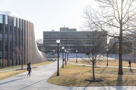 BIG and Goody Clancy Expansion of Isenberg School of Management UMass Amherst