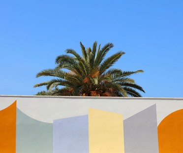 David Tremlett Wall Surfaces, inbetween architecture and public art in Bari