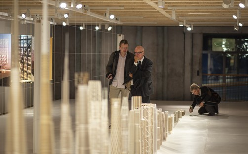 Beyond the Structure exhibition organised by SOM and Fundación Arquitectura COAM Madrid