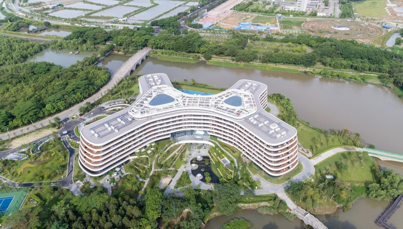 3LHD designs the Hotel LN Garden in Nansha, China