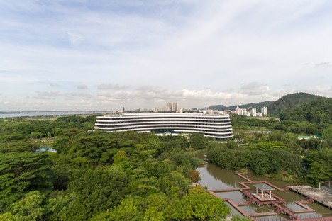 3LHD designs the Hotel LN Garden in Nansha, China