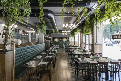 DiDeA provides interior design for two food and drink venues in Palermo