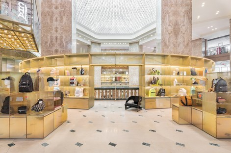 BIG interior design for Flagship Galeries Lafayette Paris