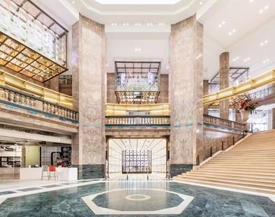 BIG interior design for Flagship Galeries Lafayette Paris
