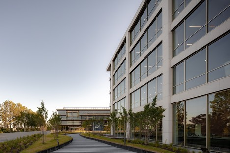 Powerhouse Company Danone headquarters in Hoofddorp, the Netherlands