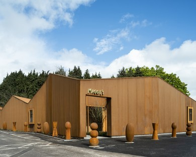 Dow Jones Architects creates a Maggie's Centre at the Velindre Cancer Centre in Cardiff