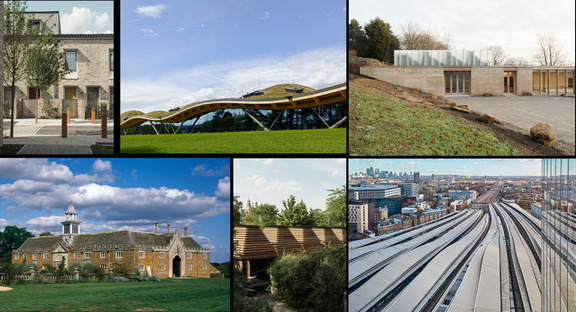 The finalists of the RIBA Stirling Prize 2019