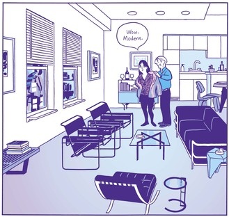 Vitra Schaudepot Exhibition: Living in a Box: Design and Comics