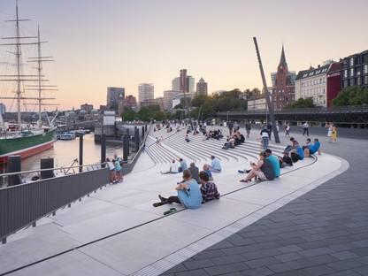 Zaha Hadid Architects Niederhafen River Promenade Hamburg