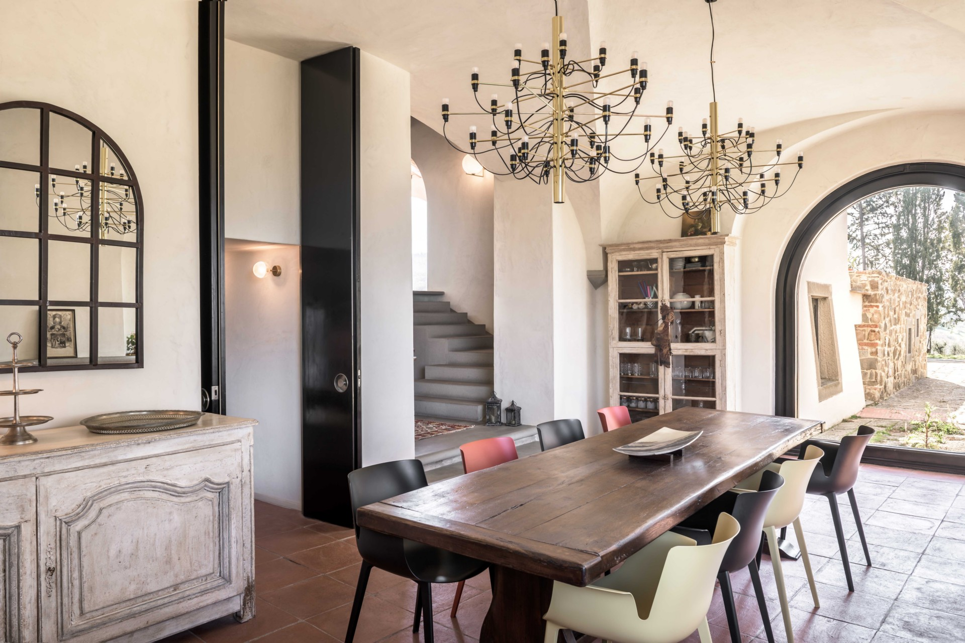 Pierattelli Architetture Designs The Interior Of An Old Tuscany Farmhouse Floornature,Opposite Color Of Blue Green