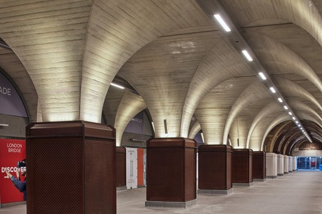 Grimshaw Architects designs the London Bridge Station in London