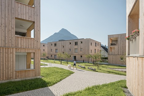 Feld72 designs the Maierhof residential complex, for living together and enjoying views over the mountains
