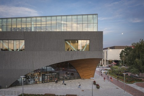 Snøhetta completes the Charles Library at Temple University in Philadelphia
