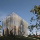 Edoardo Tresoldi creates Simbiosi site-specific work for the Arte Sella project in the Trentino Dolomites