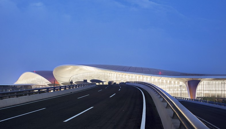 Daxing International Airport in Beijing designed by Zaha Hadid Architects opens its doors