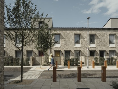 Mikhail Riches designs energy-efficient social housing in Goldsmith Street, Norwich