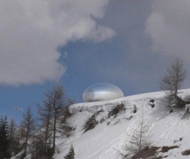 Alpine Capsule, Dolomites - Ross Lovegrove