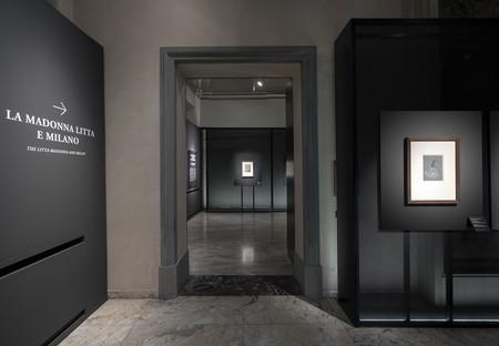 Migliore+Servetto architects Leonardo e la Madonna Litta exhibition installation in Milan