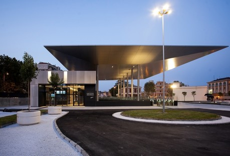 Matera's new Central Train Station designed by Stefano Boeri Architetti