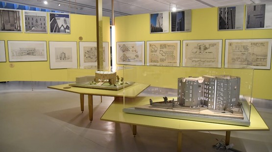 Gio Ponti Loving architecture exhibition at MAXXI National Museum of 21st Century Arts in Rome