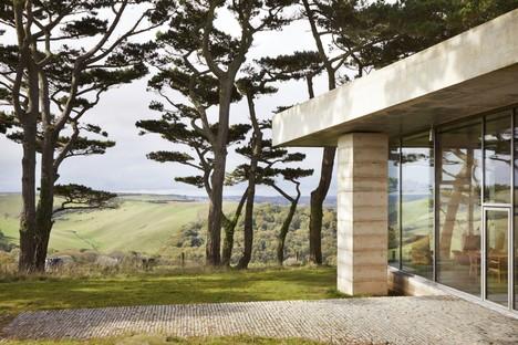 Atelier Peter Zumthor with Mole Architects designs Secular Retreat in Devon