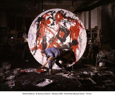 Alvisi Kirimoto creates the design for the EMILIO VEDOVA exhibition at Palazzo Reale in Milan