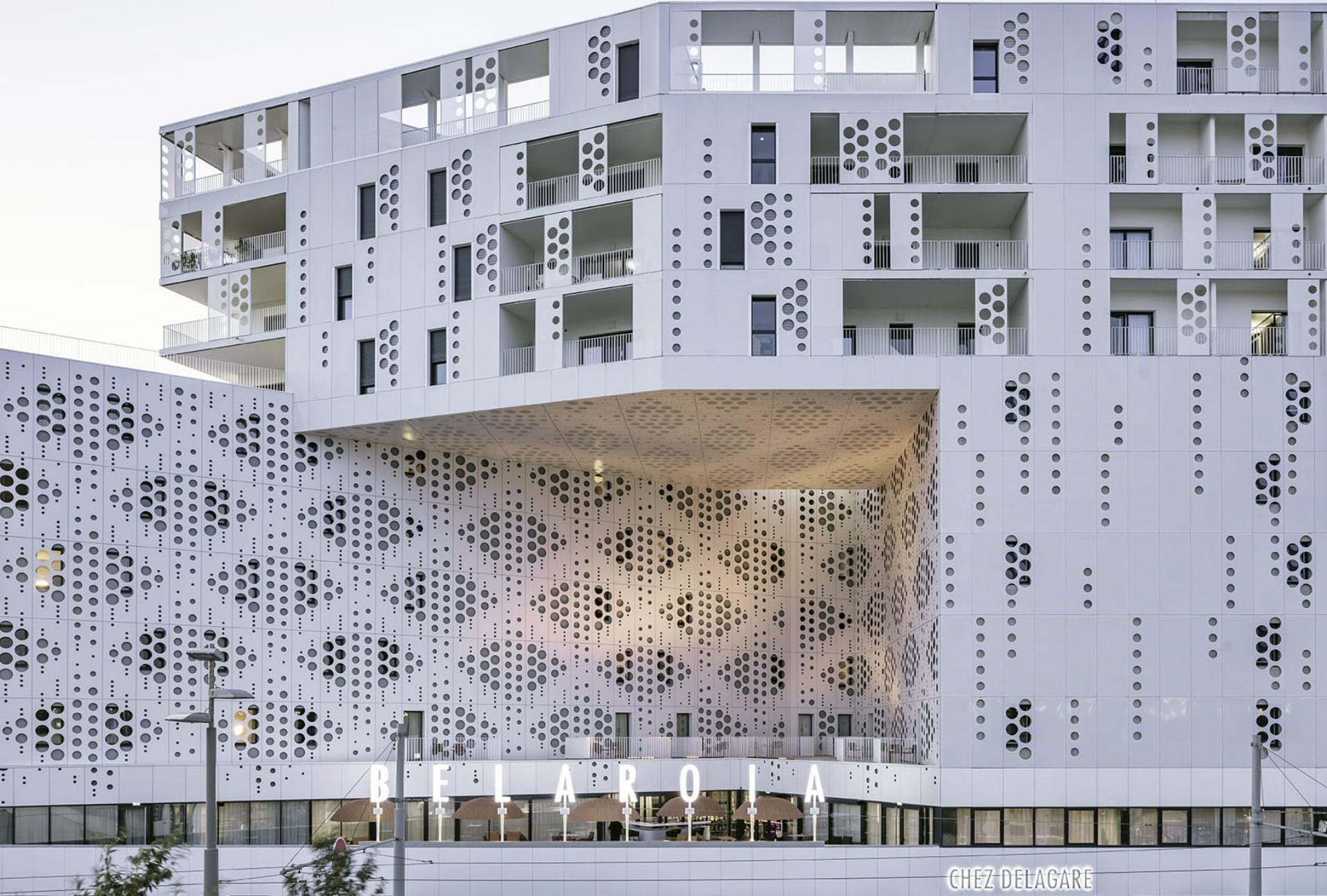 Manuelle Gautrand Architecture designs Belaroia in ...