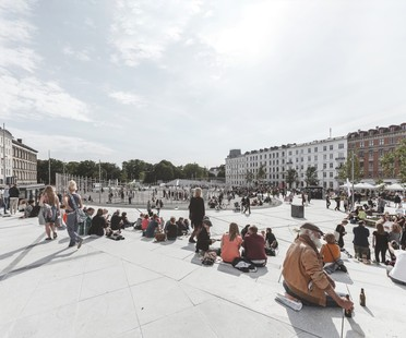 Cobe, Copenhagen Our Urban Living Room exhibition, Aedes Architecture Forum, Berlin