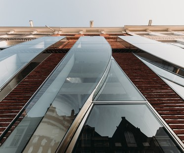UNStudio The Looking Glass façade architecture for fashion in Amsterdam