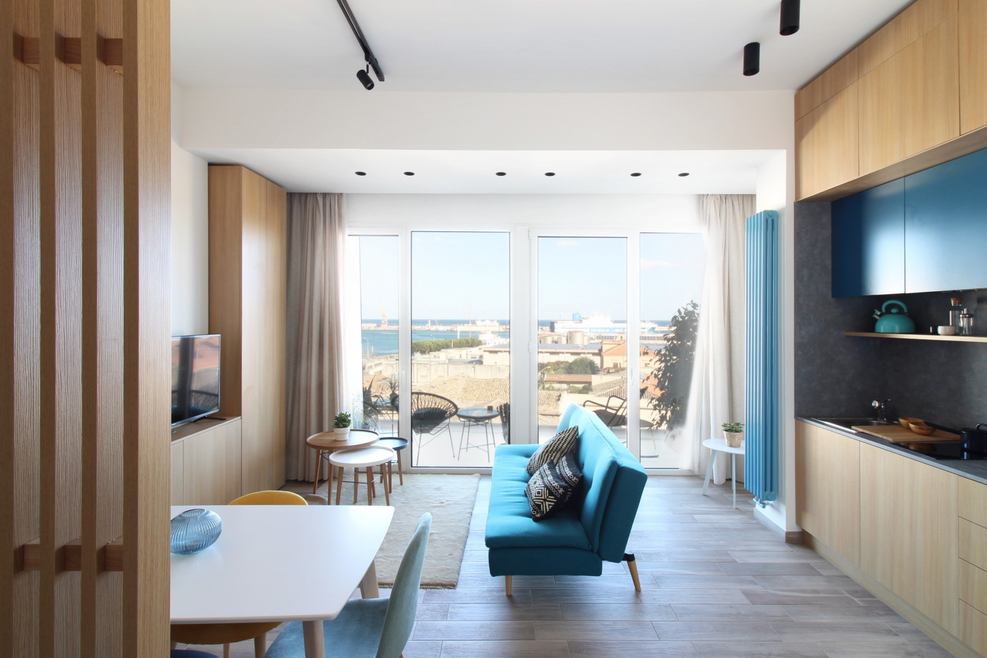 The Seaview Apartments an interior design project in Palermo by