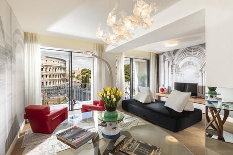 Loto Ad Project Giorgia Dennerlein Interior for Manfredi Fine Hotel Collection Rome