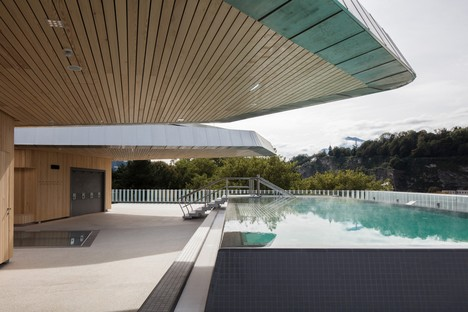 Berger+Parkkinen Associated Architects designs Paracelsus Bad & Kurhaus in Salzburg