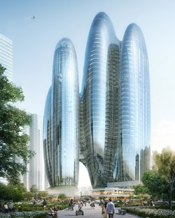 Zaha Hadid Architects design the new OPPO headquarters in Shenzhen
