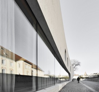 MoDusArchitects' TreeHugger, a sculptural volume for the tourist information office in Bressanone