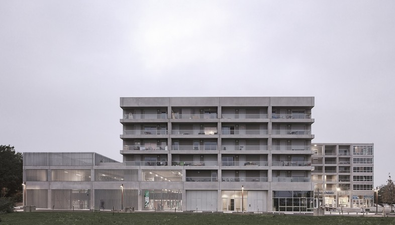 KAAN Architecten - Multifaceted building in Bottière Chénaie, Nantes