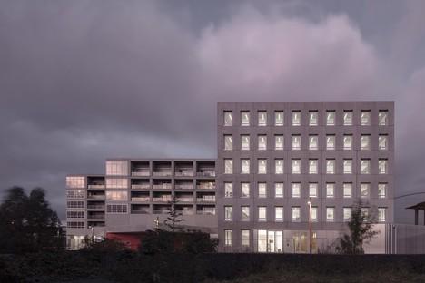 KAAN Architecten - Multifaceted building in Bottière Chénaie, Nantes