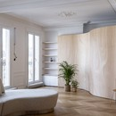 Toledano + architects Wood Ribbon interior design in Paris