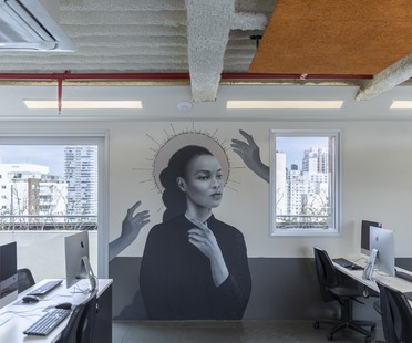 SuperLimão studio designs interiors for Escola 42, an IT school in Saõ Paulo, Brazil
