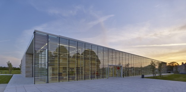Serero Architectes Urbanistes designs new Media Library, an urban and landscape showcase in Bayeux