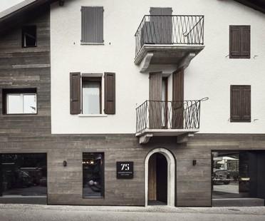 Lissoni Associati 75 Café and Lounge, Wine Bar in Ponte di Legno, Brescia