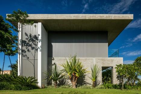 Reinach Mendonça Arquitetos Associados DMG Residence Bragança Paulista