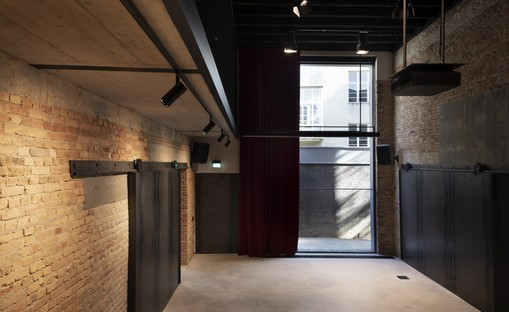 3LHD transforms Zagabria's Cinema Urania into an architectural studio
