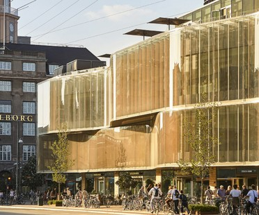Pei Cobb Freed & Partners a new building for Copenhagen's Tivoli Hjørnet gardens
