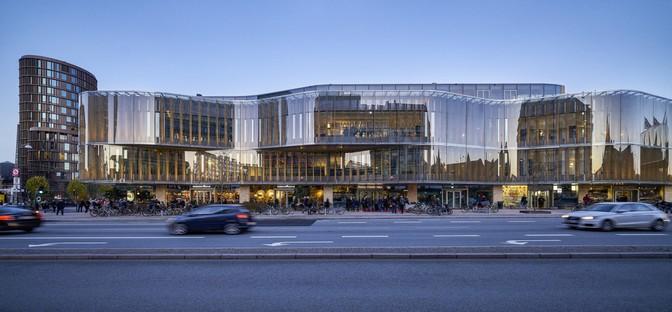 Pei Cobb Freed & Partners a new building for Copenhagen's Tivoli Hjørnet gardens